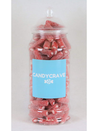 Fizzy Strawberry Pencils Medium Retro Jar