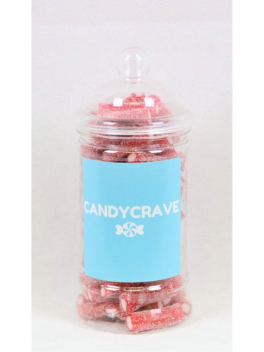 Fizzy Strawberry Pencils Small Retro Jar