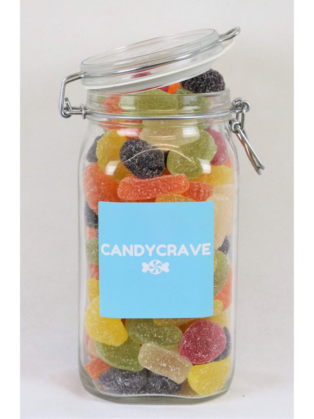 Fruit Jellies Clip Top Jar