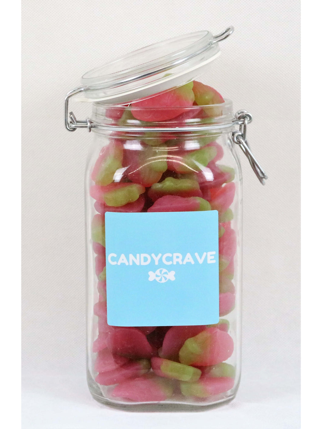 Giant Strawberries Clip Top Jar