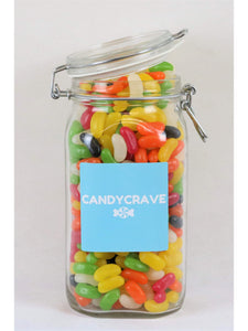 Jelly Beans Clip Top Jar