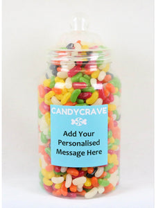 Jelly Beans Giant Retro Jar