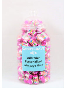 Mini Love Hearts Giant Retro Jar