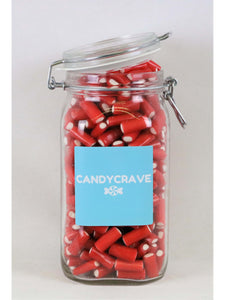 Mini Strawberry Pencils Clip Top Jar