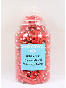 Mini Strawberry Pencils Giant Retro Jar