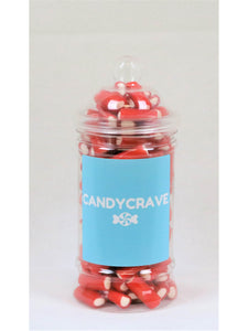 Mini Strawberry Pencils Small Retro Jar