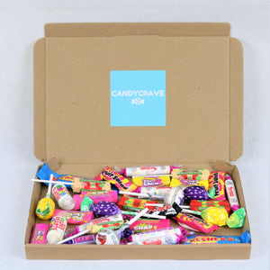 Retro Sweets Mix Small Letterbox