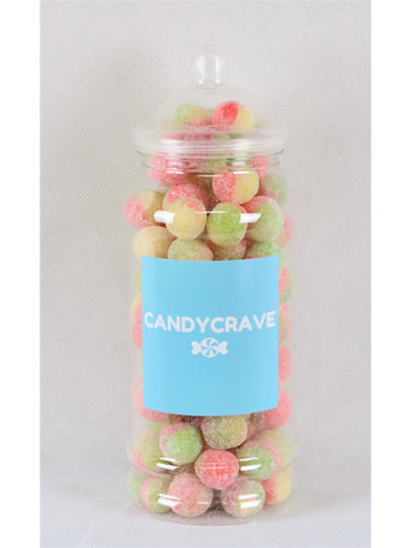 Rosey Apples Medium Retro Jar