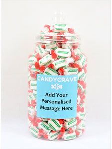 Spearmint Chews Giant Retro Jar