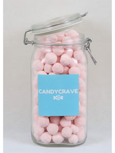 Strawberry Bon Bons Clip Top Jar