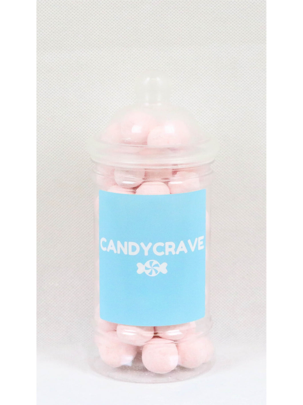 Strawberry Bon Bons Small Retro Jar