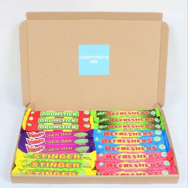 Vegan Swizzels Chew Bars Box - Personalised Sweets Box