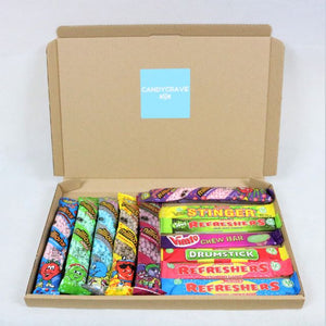 Vegan Million Tubes & Chew Bars Mix Sweets Box