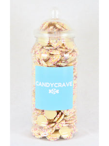 White Jazzles Medium Retro Jar