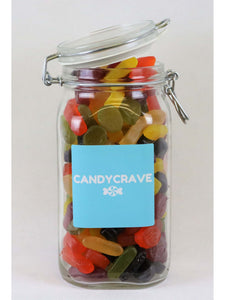 Wine Gums Clip Top Jar