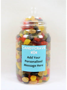 Wine Gums Giant Retro Jar
