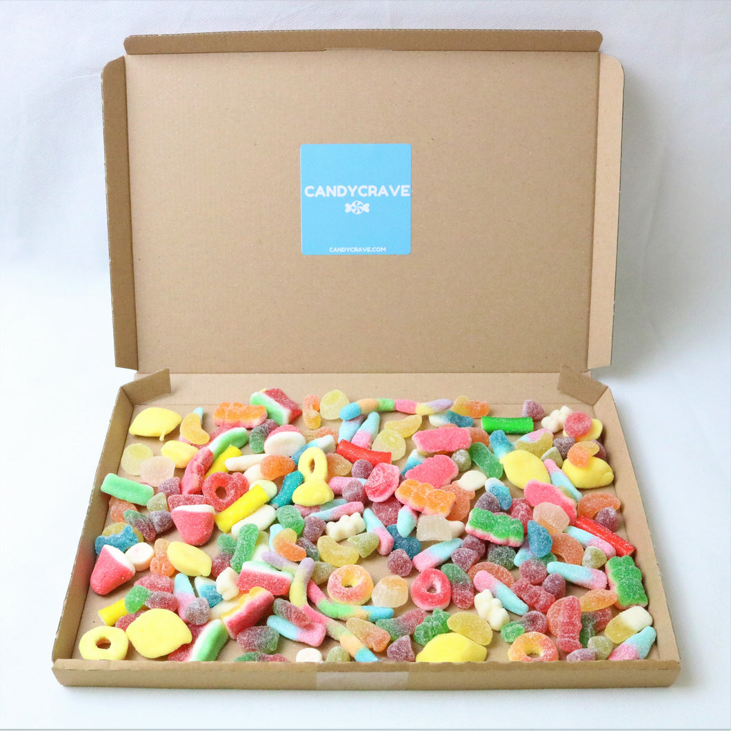 Fizzy Mix Sweets Letterbox - Personalised Sweets Box