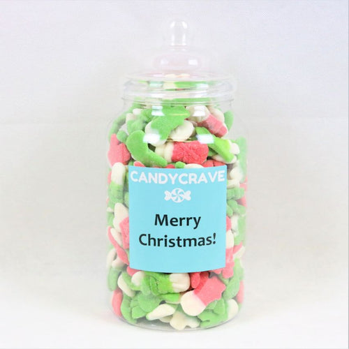 Jelly Snowmen Giant Jar