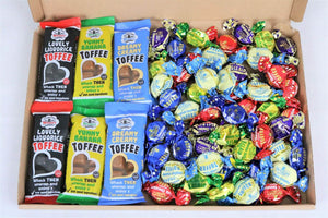 Walkers Assorted Toffee & Chocolate Eclairs Box