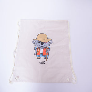 Koala Hiking Drawstring Bag
