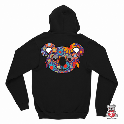 Koala Puffs Trippy Koala Zip Up (PRE-ORDER)