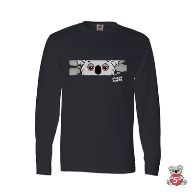 Koala Eyes Long-Sleeve T-Shirt