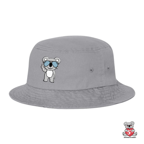 Koala Puffs Peace Bucket Hat (PRE-ORDER)