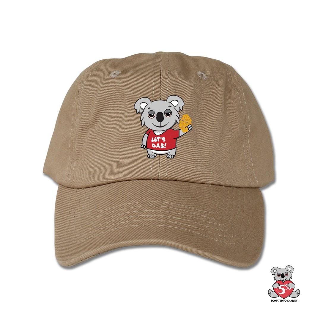 Koala Dabber Dad Hat (Tan )
