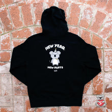 New Year New Puffs Zip Hoodie