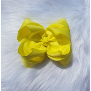 Sunshine Double Ribbon Bow