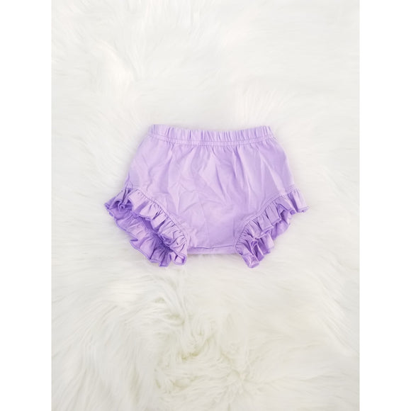 Lavender ruffle shorties