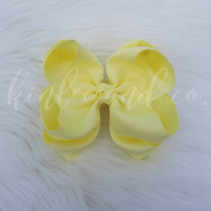 Banana Double Ribbon Bow