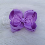Lavender Double Ribbon Bow