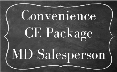 MD Salesperson Convenience Bundle 2  -ZOOM CE  May 2021