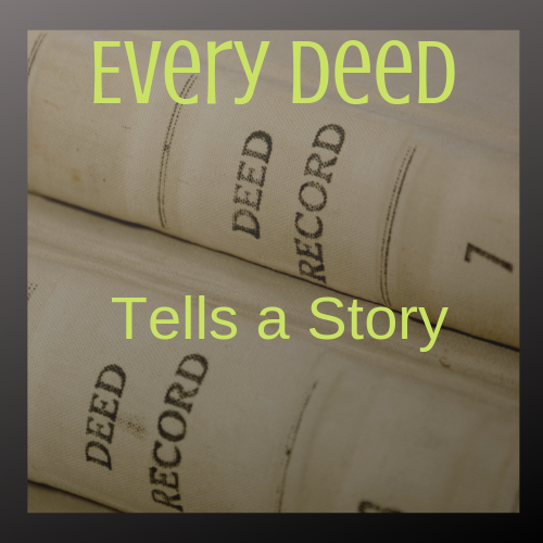 Every Deed tells a Story (f) -Dundalk  7-14-2020 - Elite Learning Academy
