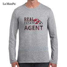 Load image into Gallery viewer, La Maxpa Real Estate Agent Tee Shirt For Men Leisure T-Shirt Man Spring Autumn O Neck Unisex Tshirt For Men - Elite1253