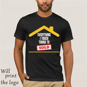 GILDAN Everything I Touch Turns To Sold Real Estate Broker T Shirt - Elite1253
