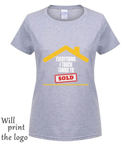GILDAN Everything I Touch Turns To Sold Real Estate Broker T Shirt - Elite Learning Academy