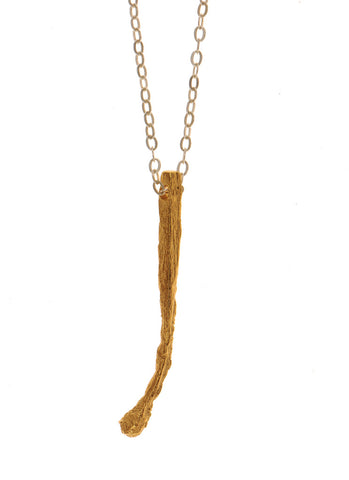 The Spent Matchstick Necklace