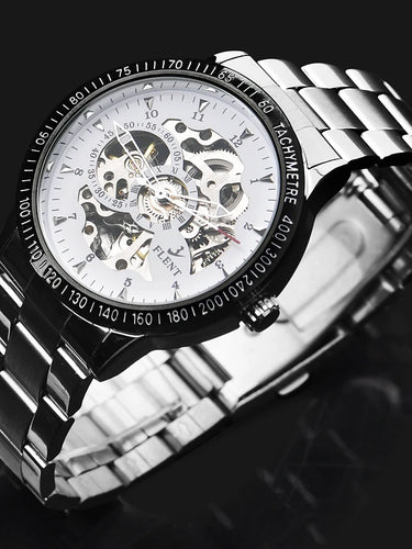 ASJ Men's Dress Watch Mechanical Watch Automatic self-winding Stainless - Dubbs Alpha League