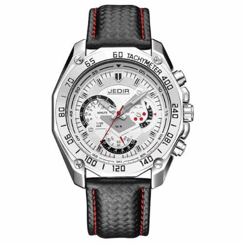 Men Watches Quartz Leather Strap - Dubbs Alpha League