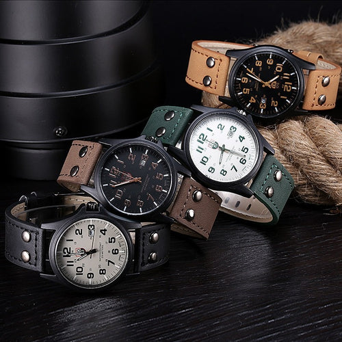 2019 New Business Quartz Watch Men - Dubbs Alpha League