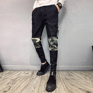 Camo Jeans Men Slim Pants - Dubbs Alpha League