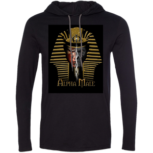 987 Anvil LS T-Shirt Hoodie - Dubbs Alpha League