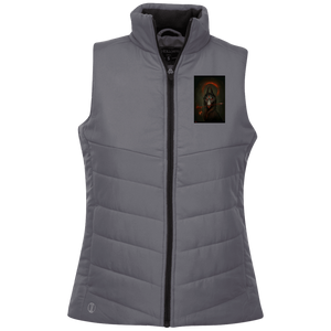 229314 Holloway Ladies' Quilted Vest - Dubbs Alpha League