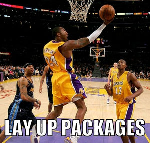 Lay up packages - Dubbs Alpha League