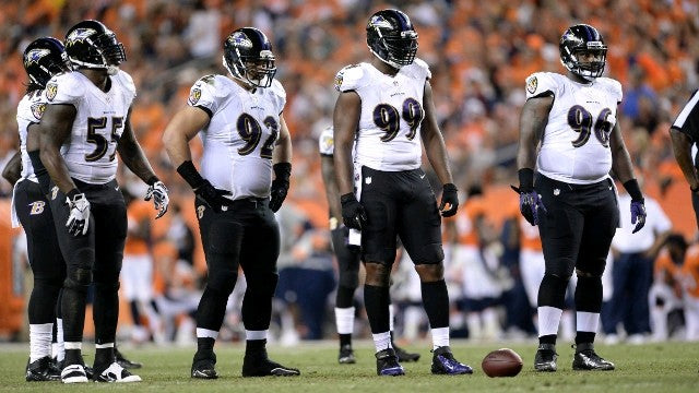 RAVENS DLINE - Dubbs Alpha League
