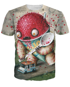 Abominable Snowcone T-Shirt - Dubbs Alpha League