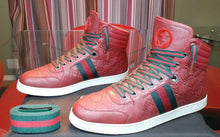 Authentic Gucci sneakers mens red - Dubbs Alpha League