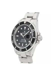 Rolex Submariner Auto 40mm Steel Mens Oyster Bracelet Watch Date 16610 - Dubbs Alpha League